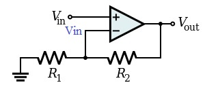 Op-Amp Non Inverting Amplifier Analisis 01
