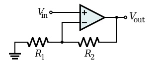 Op-Amp Non Inverting Amplifier